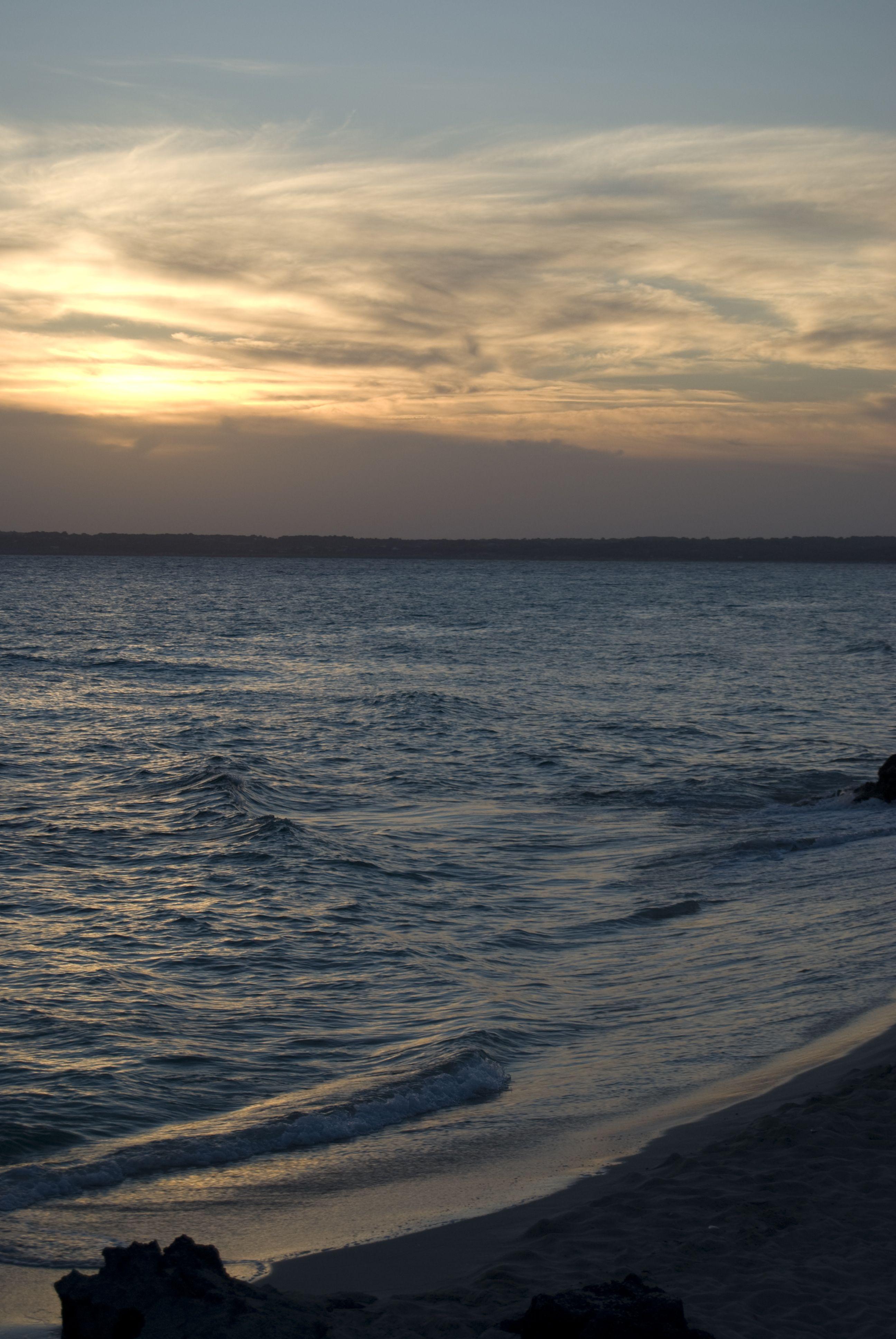 Anochecer en Formentera