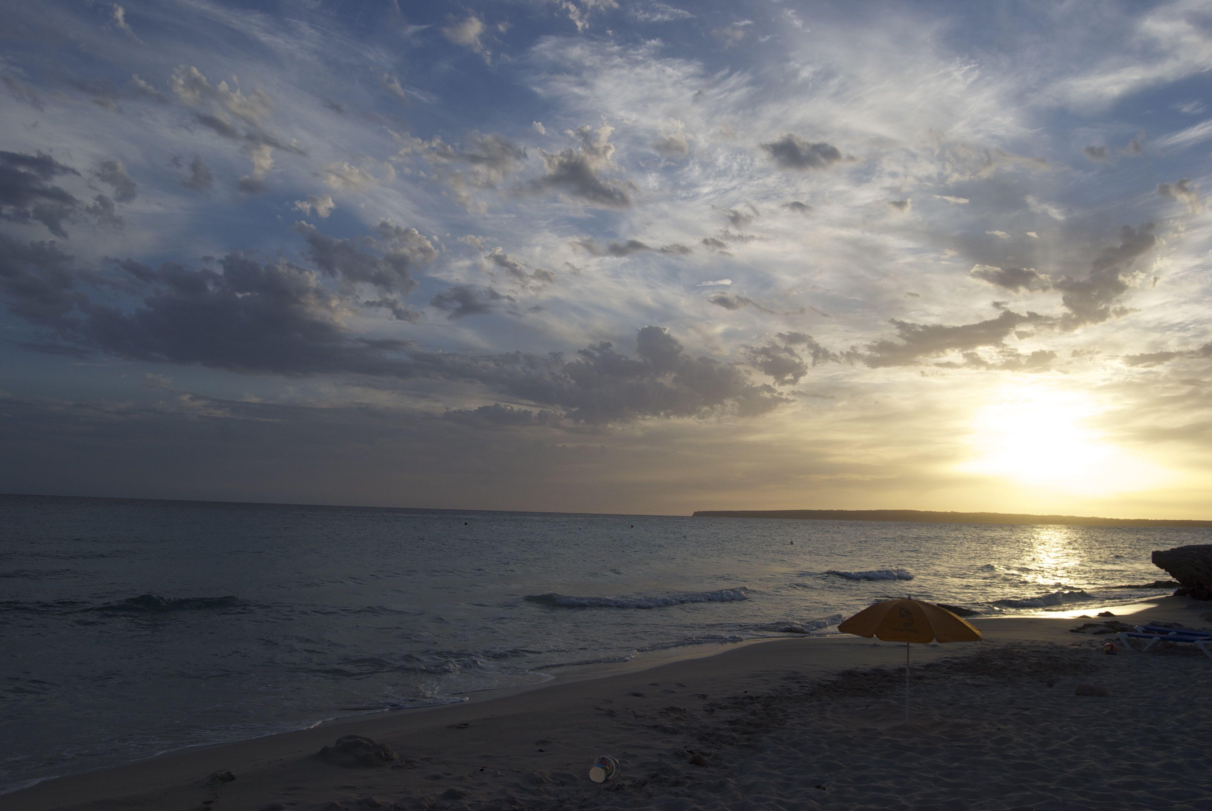 Atardecer en Formentera