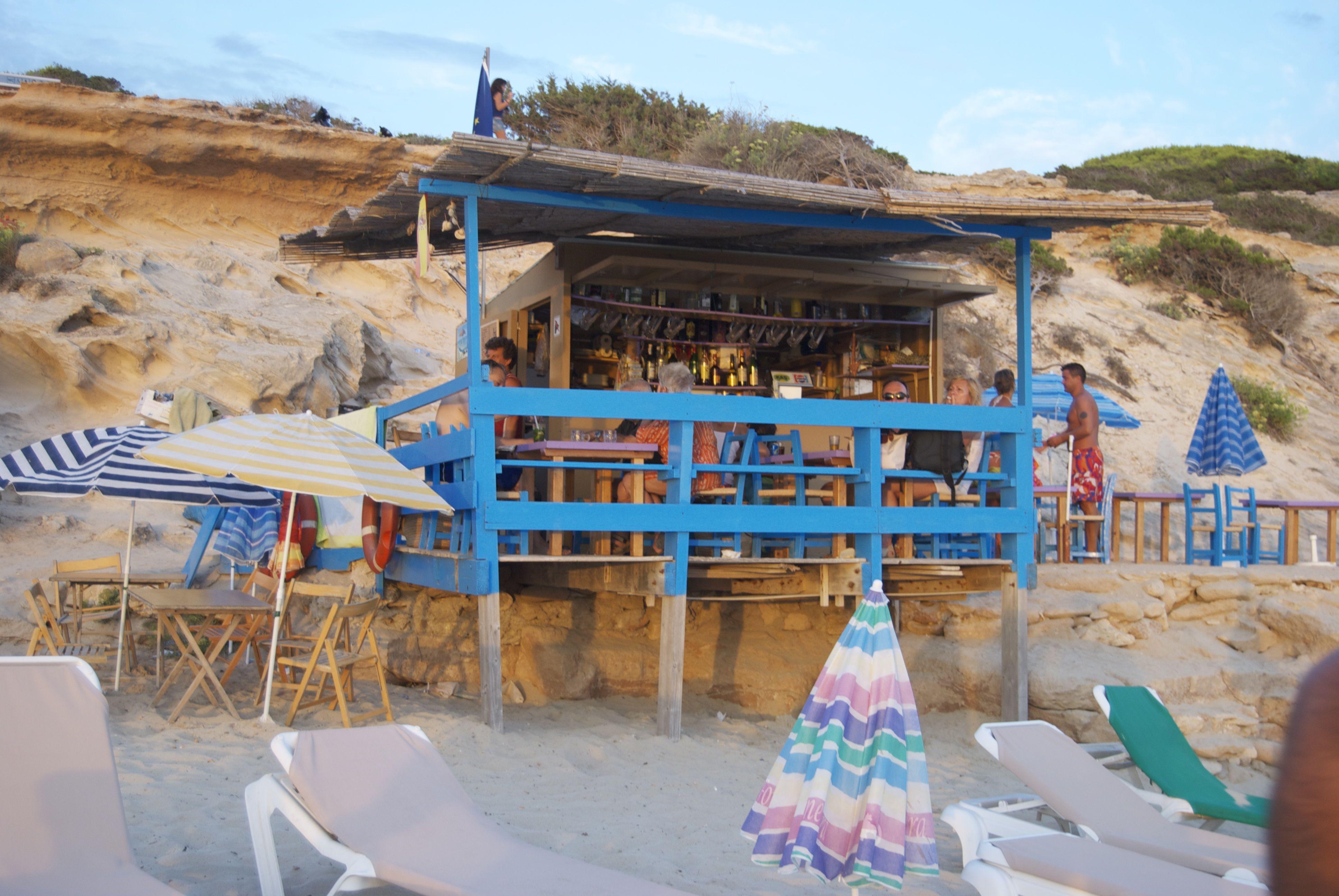 Chiringuito en Formentera