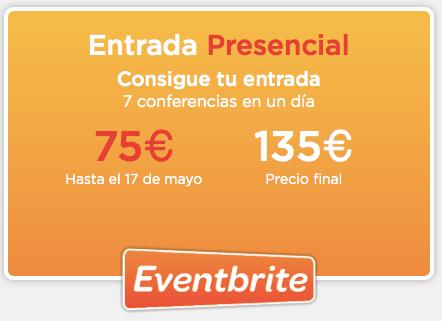"""Entrada presencial Inbound Marketing Descuento con """"ivanruiz"""""""