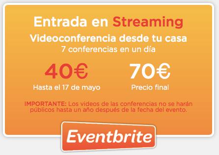 """Entrada Streaming Inbound Marketing. Descuento con """"ivanruiz"""""""